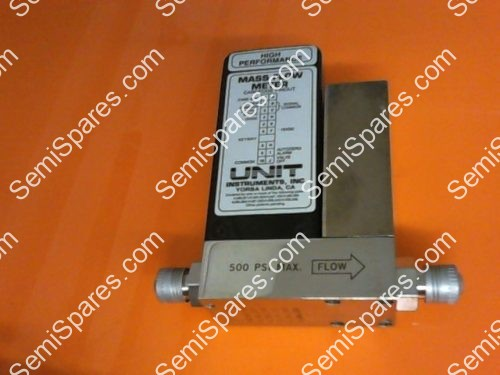 N2 RANGE UNIT INSTRUMENTS UFC-1200A MASS FLOW CONTROLLER GAS 100 SCCM